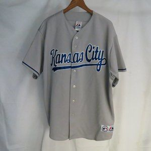 Kansas City 7 Gordon Men's 2X Jersey Gray